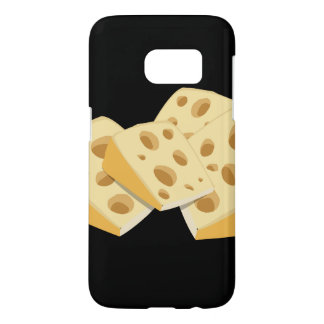 Glitch Food cheese Samsung Galaxy S7 Case