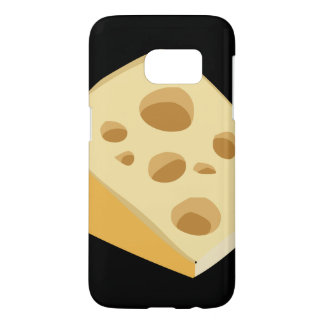 Glitch Food cheese stinky Samsung Galaxy S7 Case