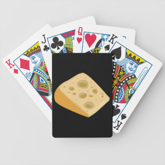 Glitch Food cheese very stinky Bicycle Playing Cards