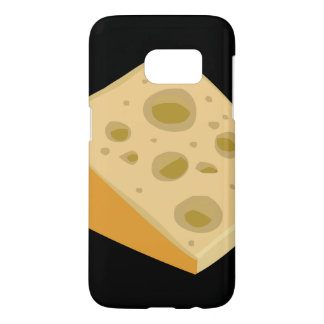 Glitch Food cheese very stinky Samsung Galaxy S7 Case