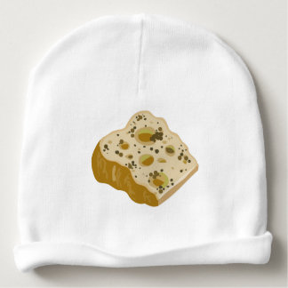 Glitch Food cheese very very stinky Baby Beanie