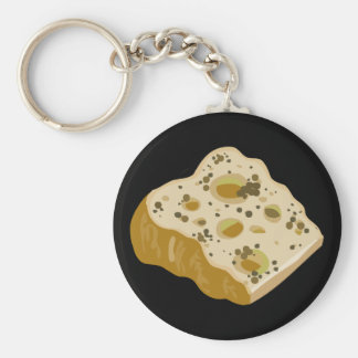Glitch Food cheese very very stinky Keychain