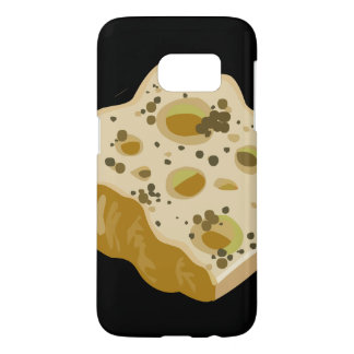 Glitch Food cheese very very stinky Samsung Galaxy S7 Case