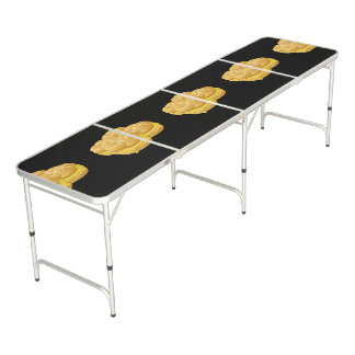 Glitch Food cheezy sammich Beer Pong Table