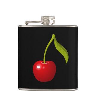 Glitch Food cherry Hip Flask