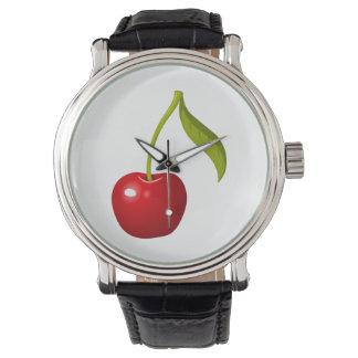 Glitch Food cherry Watch