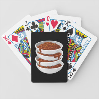 Glitch Food chillybusting chili Bicycle Playing Cards