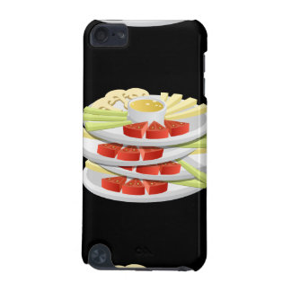 Glitch Food choice crudites iPod Touch (5th Generation) Covers