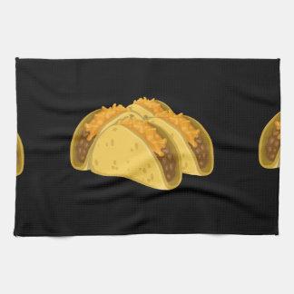 Glitch Food cold taco Kitchen Towel
