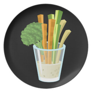 Glitch Food common crudites Plate