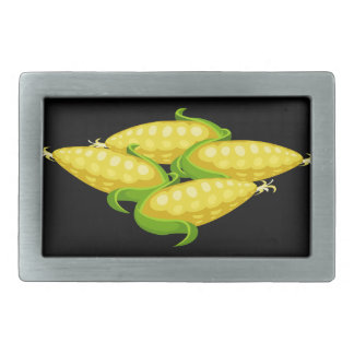 Glitch Food corn Belt Buckles