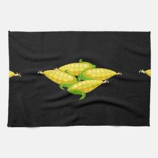 Glitch Food corn Kitchen Towel