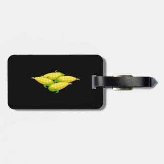 Glitch Food corn Luggage Tag