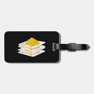 Glitch Food corn off the cob Luggage Tag