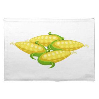 Glitch Food corn Placemat
