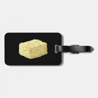 Glitch Food corn syrup squares Luggage Tag