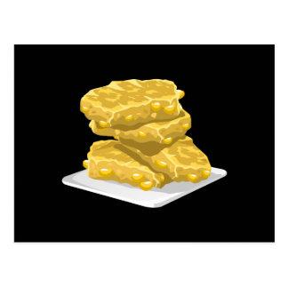 Glitch Food corny fritter Postcard
