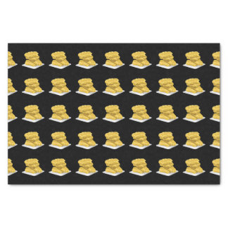 Glitch Food corny fritter Tissue Paper