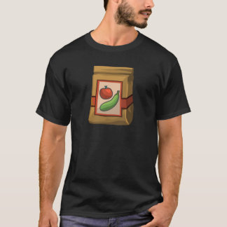 Glitch Food death to veg T-Shirt