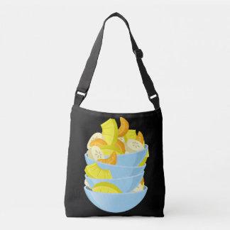 Glitch Food exotic fruit salad Crossbody Bag