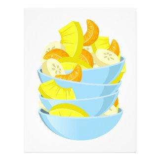 Glitch Food exotic fruit salad Letterhead