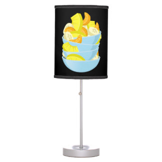 Glitch Food exotic fruit salad Table Lamp