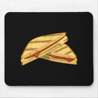 Glitch Food expensive grilled cheese Mouse Pad