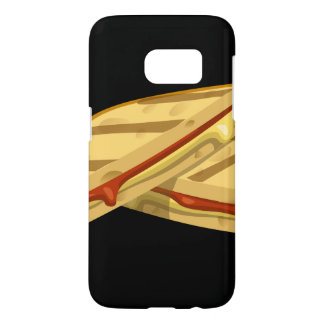 Glitch Food expensive grilled cheese Samsung Galaxy S7 Case