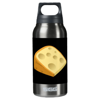 Glitch Food fancy cheese Insulated Water Bottle