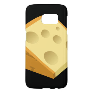 Glitch Food fancy cheese Samsung Galaxy S7 Case
