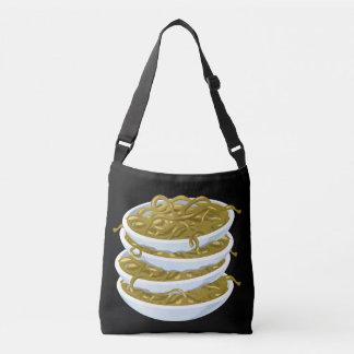 Glitch Food fried noodles Crossbody Bag