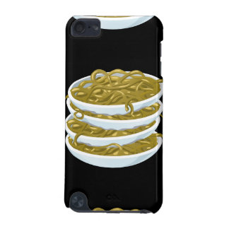 Glitch Food fried noodles iPod Touch 5G Cover
