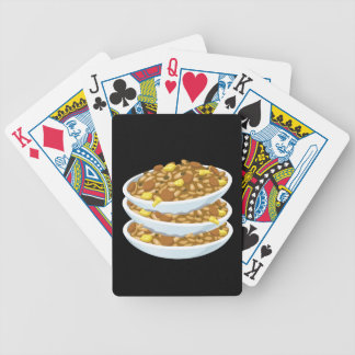 Glitch Food fried rice Bicycle Playing Cards