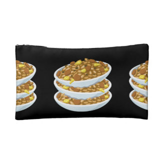 Glitch Food fried rice Cosmetic Bag