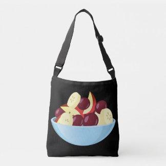 Glitch Food fruit salad Crossbody Bag