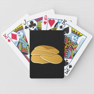 Glitch Food gammas pancakes Bicycle Playing Cards