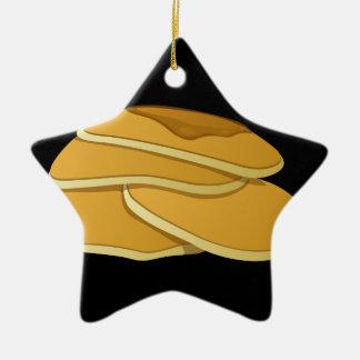 Glitch Food gammas pancakes Ceramic Ornament