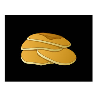 Glitch Food gammas pancakes Postcard