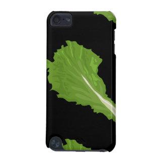 Glitch Food green leaf iPod Touch 5G Cover