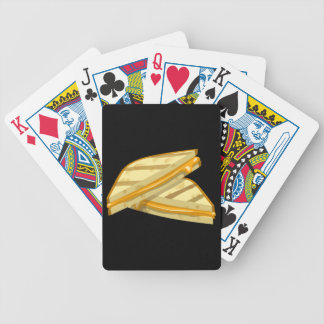 Glitch Food grilled cheese Bicycle Playing Cards