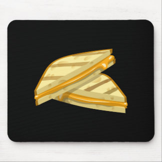 Glitch Food grilled cheese Mouse Pad