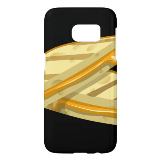 Glitch Food grilled cheese Samsung Galaxy S7 Case
