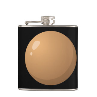 Glitch Food hard bubble Hip Flask