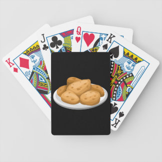 Glitch Food hot potatoes Bicycle Playing Cards