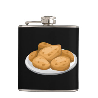 Glitch Food hot potatoes Hip Flask
