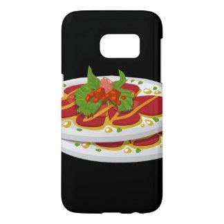 Glitch Food juicy carpaccio Samsung Galaxy S7 Case