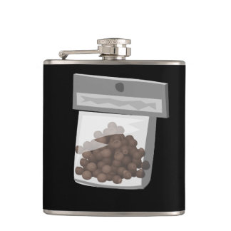 Glitch Food kings of condiments Hip Flask