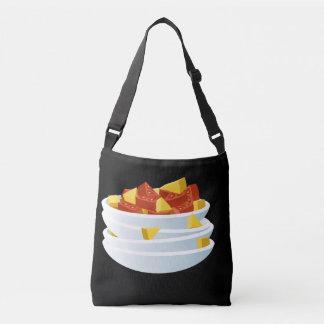 Glitch Food lazy salad Crossbody Bag