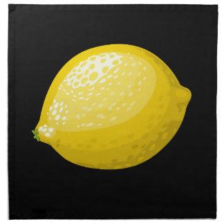 Glitch Food lemon Napkin