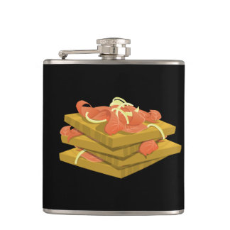Glitch Food lotsa lox Hip Flask